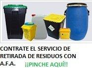 Gestión retirada de residuos